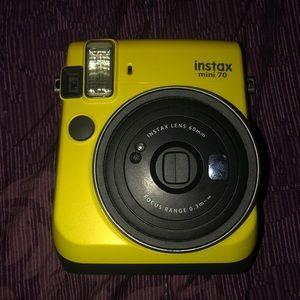 Yellow instax film mini 70